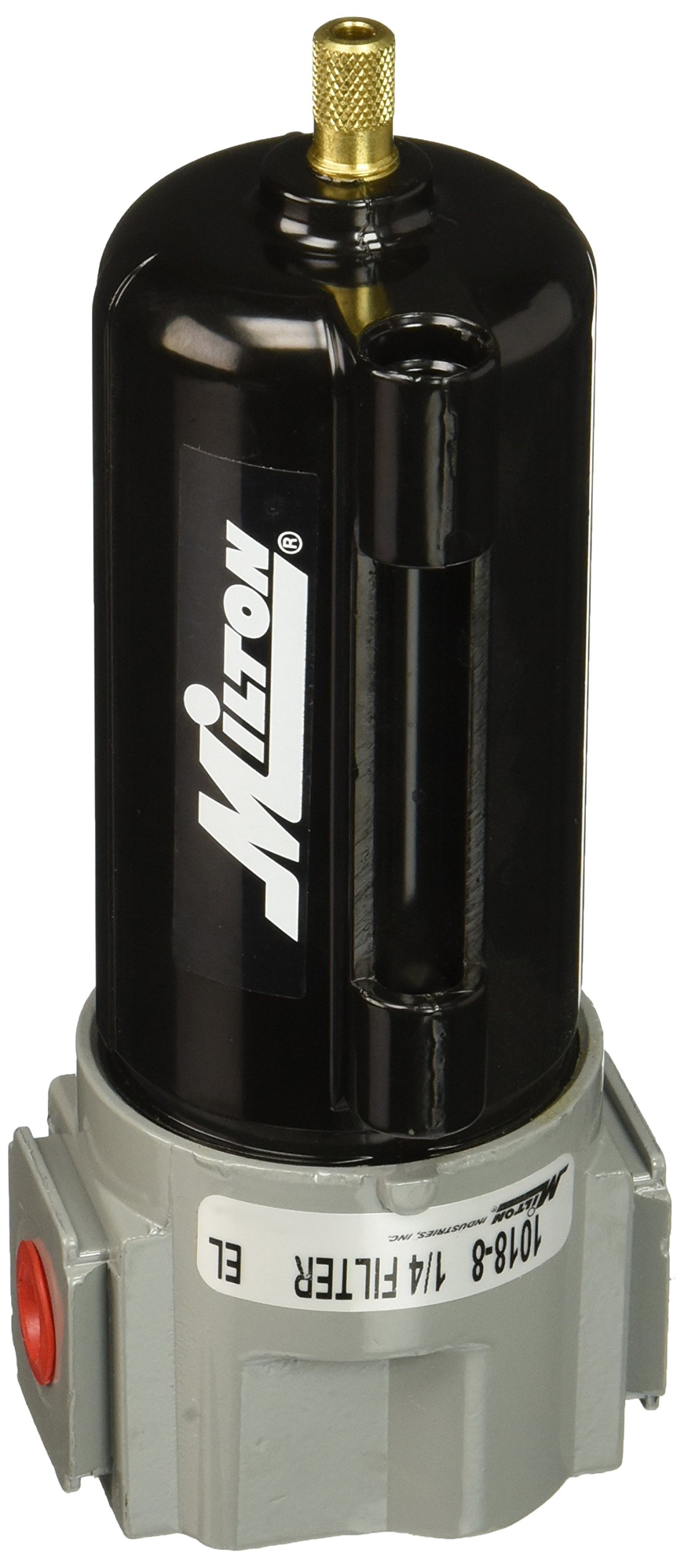 Milton 1018-8 1/4'' NPT Metal FRL Filter Bowl by Milton Industries