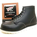 REDWING レッドウィング ブーツ #8179 CLASSIC WORK BOOTS アイリッシュセッター クラシック ワークブーツ 6インチ モックトゥ BLACK CHROME(RED WING)