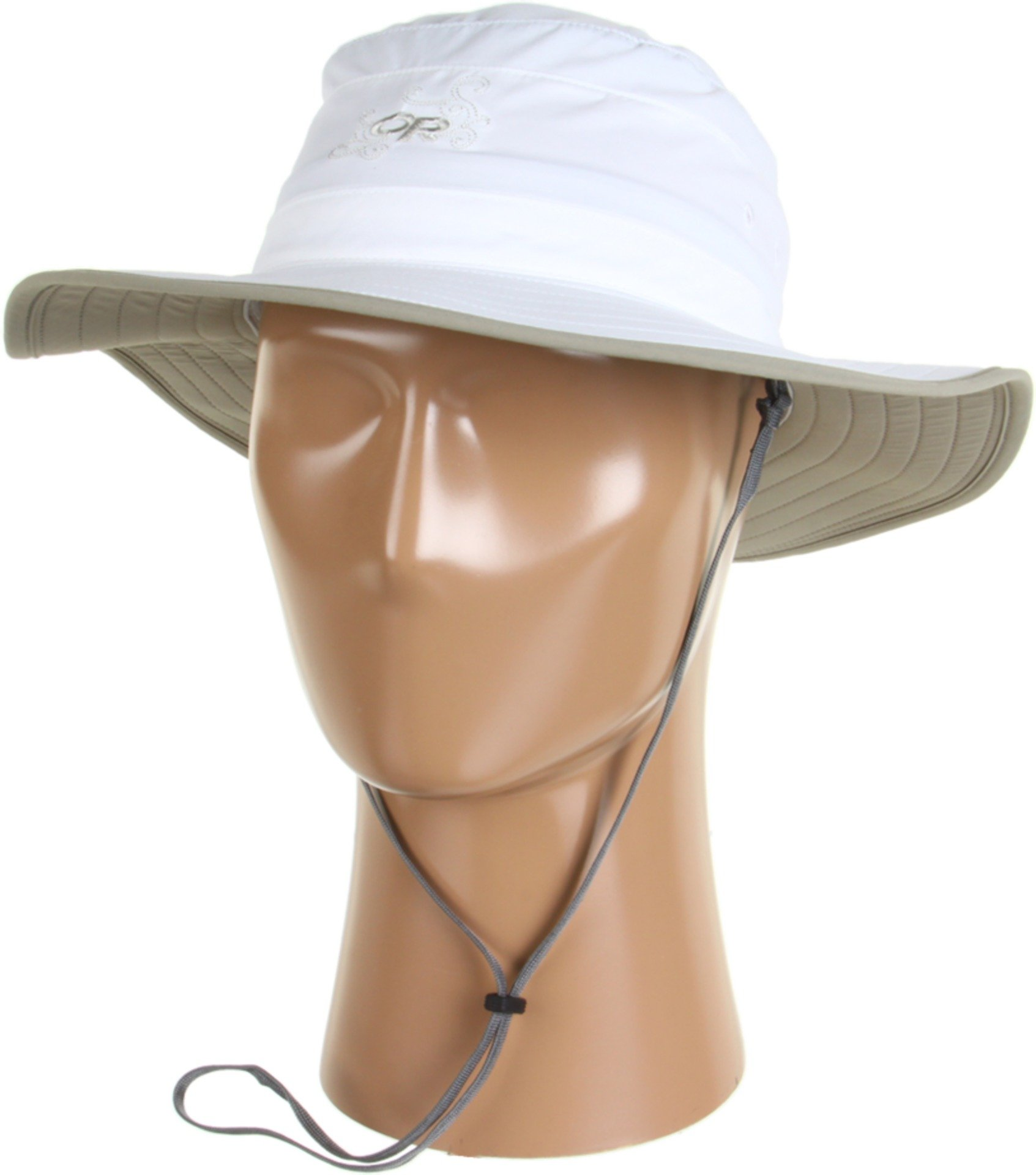 Outdoor Research Women's Solar Roller Sun Hat, White/Khaki, Medium by Outdoor Research