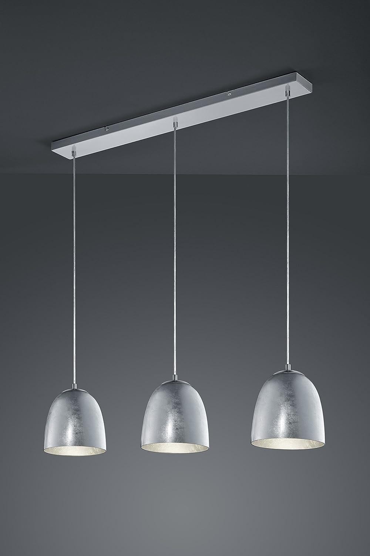 Trio Leuchten Pendelleuchte Ontario Glas, Glas, Glas, silberfarbig-foliert 305290189 14dc6a