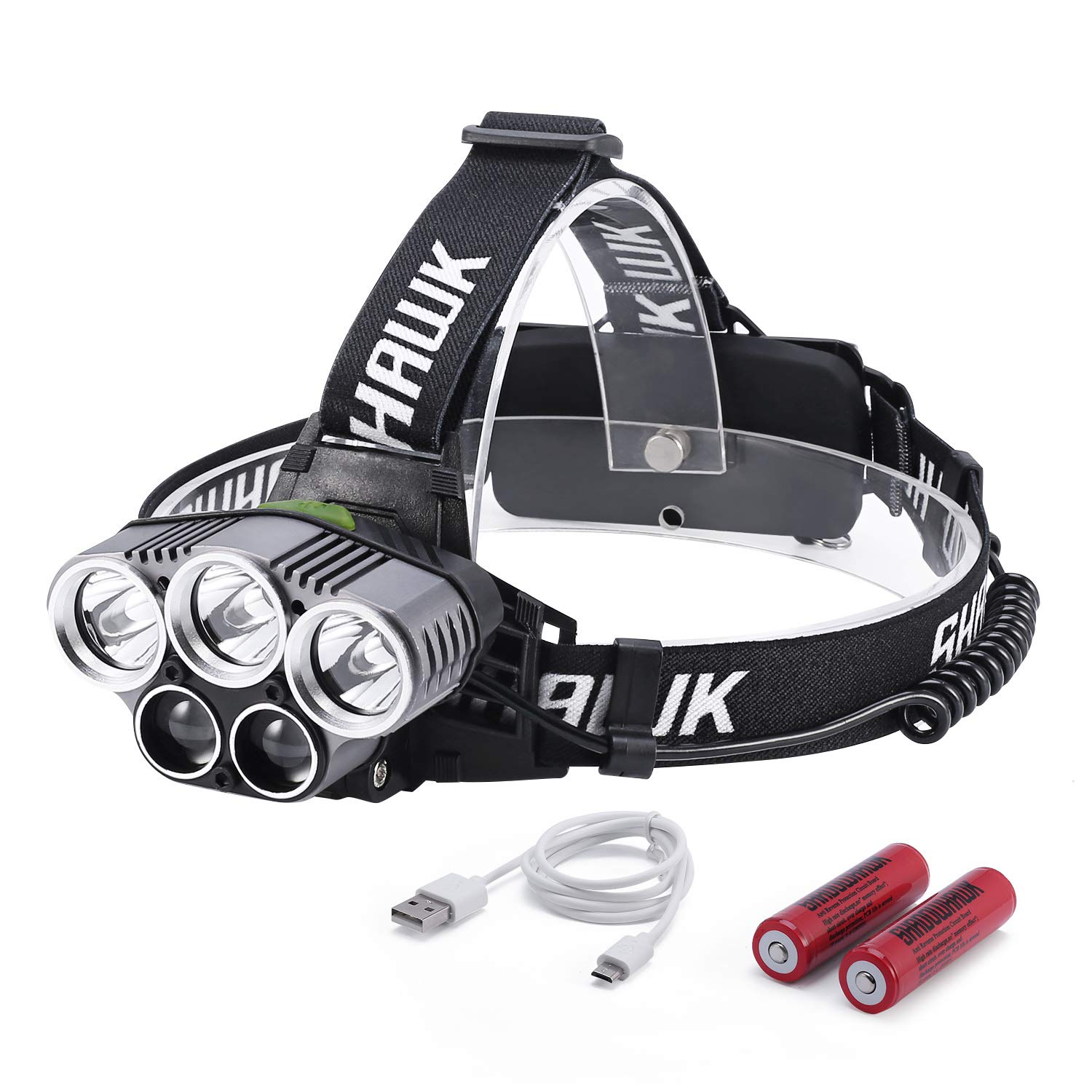 Lighthouse 150 Lumen Rechargeable Head Torch Wave On//Off Function XMS18HEAD150