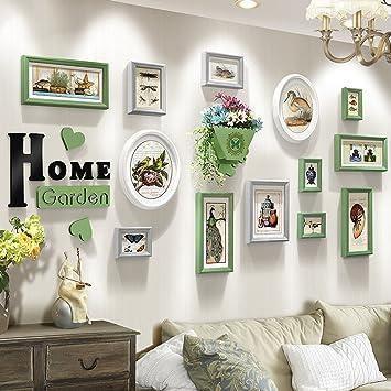 Wandmontage Design Schlafzimmer Gemälde, Fotogalerie Rahmen Sets Von 13  Restaurant Malerei Wandmalereien Sofa Hintergrund
