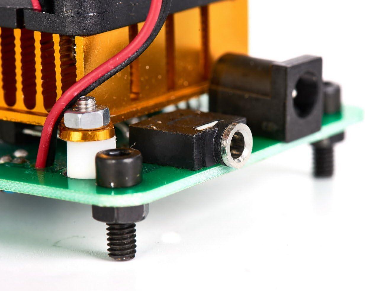 Baugger Music Tesla Coil Driver Board Altavoz de plasma con adaptador de corriente Modelo de experimento de transmisi/ón inal/ámbrica