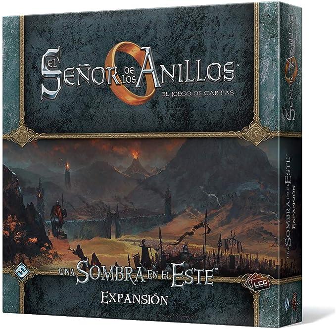 Fantasy Flight Games-El Señor de los Anillos: El Juego de Cartas-Una Sombra en el Este, Color (MEC77ES): Amazon.es: Juguetes y juegos