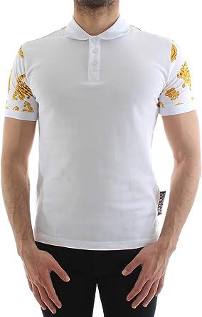 Versace Jeans B3GVB7PA36571003 - Polo para hombre: Amazon ...