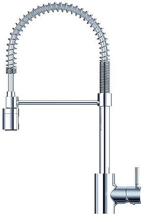 Danze DH451188 The Foodie Single Handle Pre Rinse Kitchen Faucet, Chrome