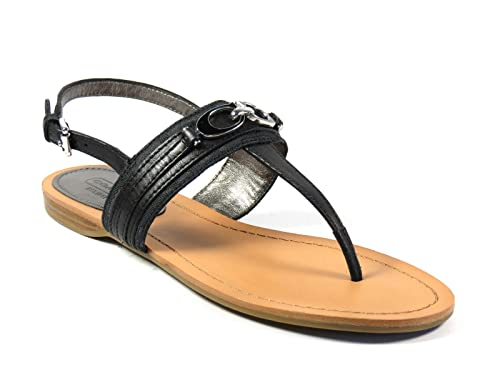 340457c6837a Image Unavailable. Image not available for. Color  Coach Women s Sammy  Leather Thong Sandals