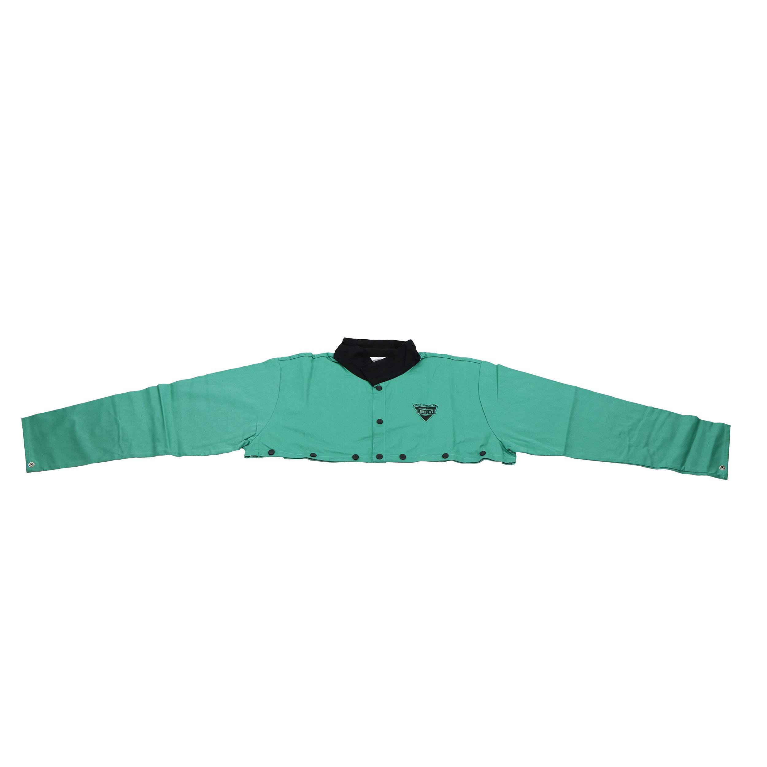 West Chester IRONCAT IRONTEX 7051 Flame Resistant Cotton Welding Cape Sleeve, XXX-Large