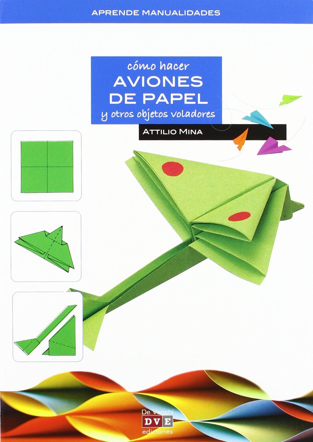 Como hacer aviones de papel en papiroflexia: Amazon.es ...