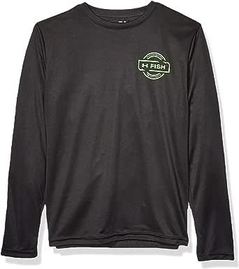 Amazon.com: Under Armour Boys' Long Sleeve Tee Shirt: Clothing