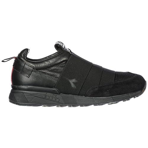 Diadora Heritage Slip on en Piel Hombre Nuevo N9000 h Negro EU 42 201.172780: Amazon.es: Zapatos y complementos