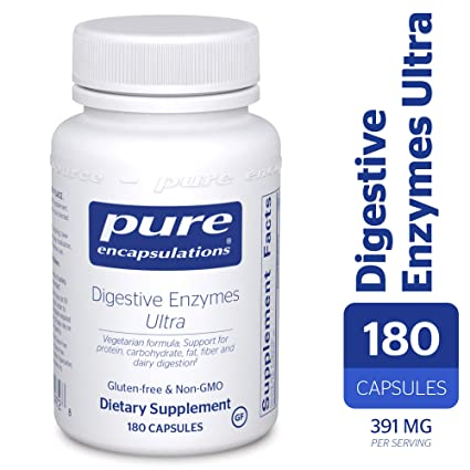 Pure Encapsulations Digestive Enzymes Ultra - 180 capsules