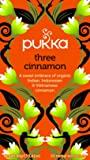 Pukka Three Cinnamon, Organic Herbal Tea (4 Pack, 80 Tea bags)