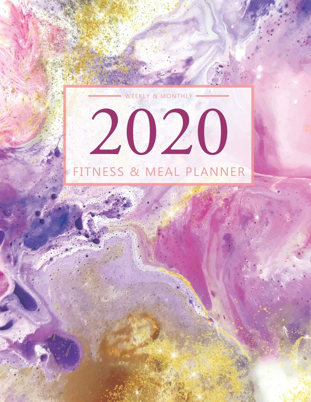 Fitness Calendar 2020 2020 Fitness and Meal Planner: 365 Daily 52 Week Calendar l