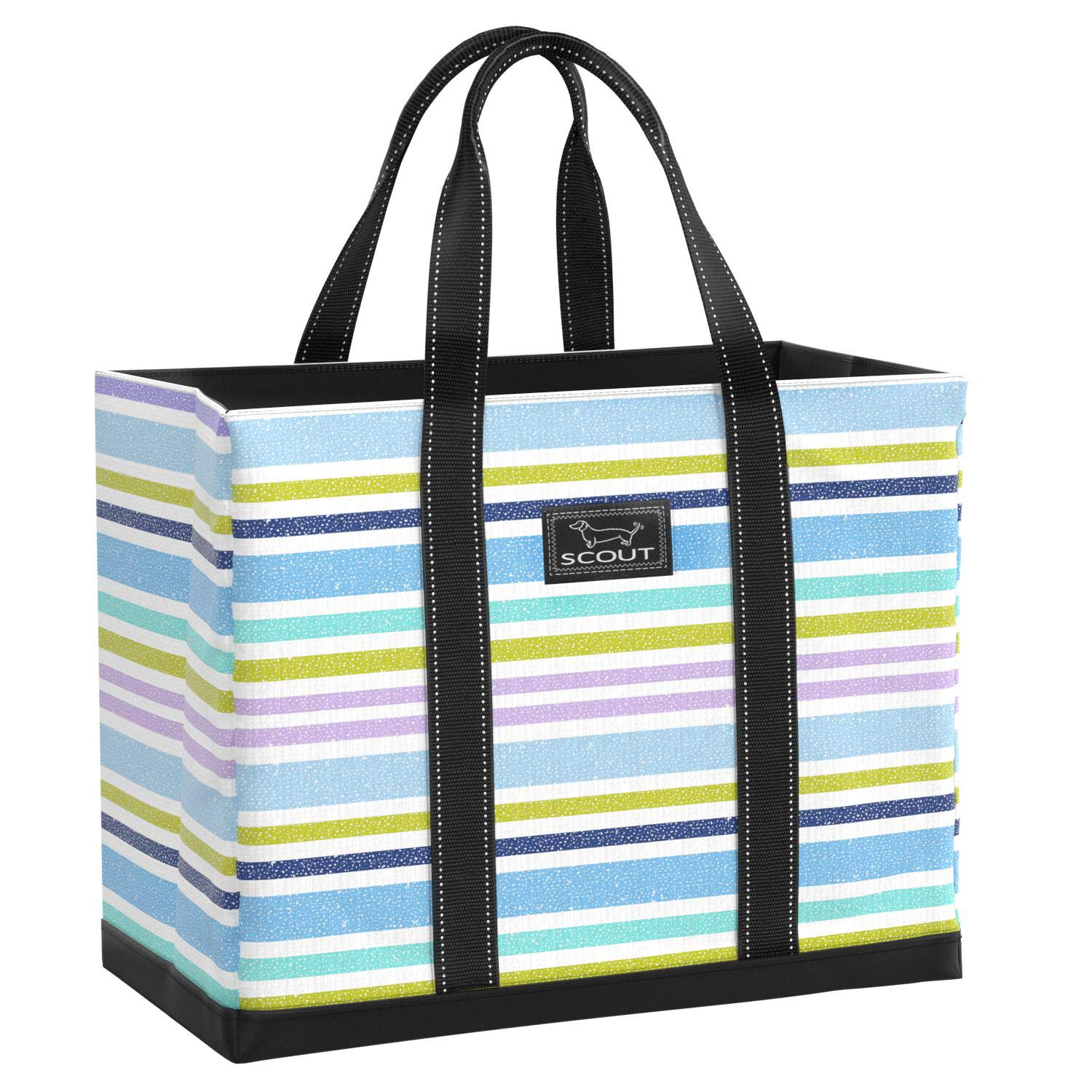 blueehemian Rhapsody SCOUT Original DEANO Tote Bag, Water Resistant Large Tote Bag for Women (Multiple Patterns Available) (Rock The Boat)