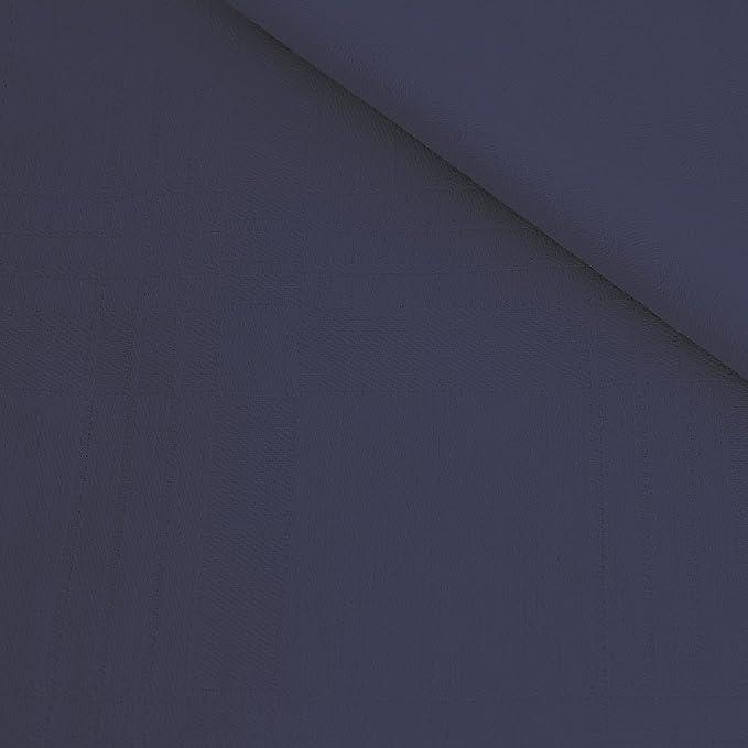 Edel Servietten Set / 3 Stoff-Serviette in Blau / Dunkelblau ...