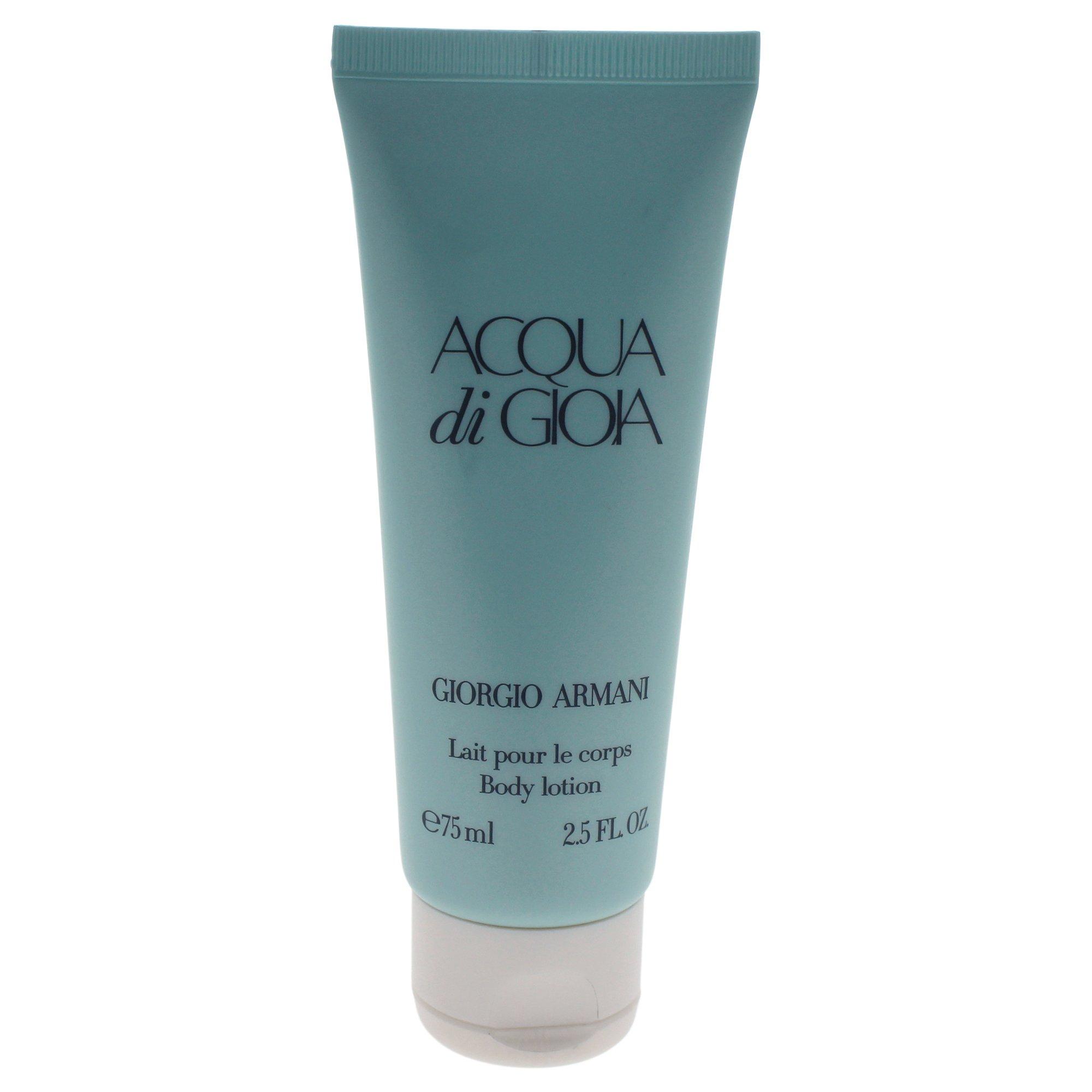 Giorgio Armani Body Lotion for Women, Acqua Di Gioia, 2.5 Ounce