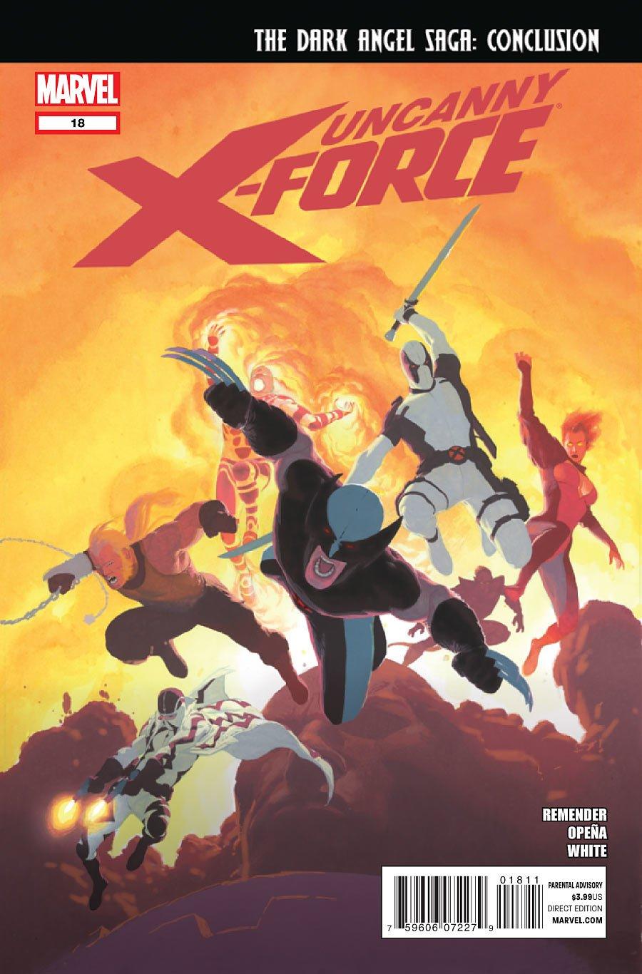 "Read Online Uncanny X-force #18 ""1st Print- The Dark Angel Saga: Conclusion"" pdf epub"