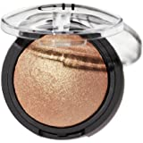 Elf Cosmetics Baked Highlighter 83707 Apricot Glow, 1.1 Ounce