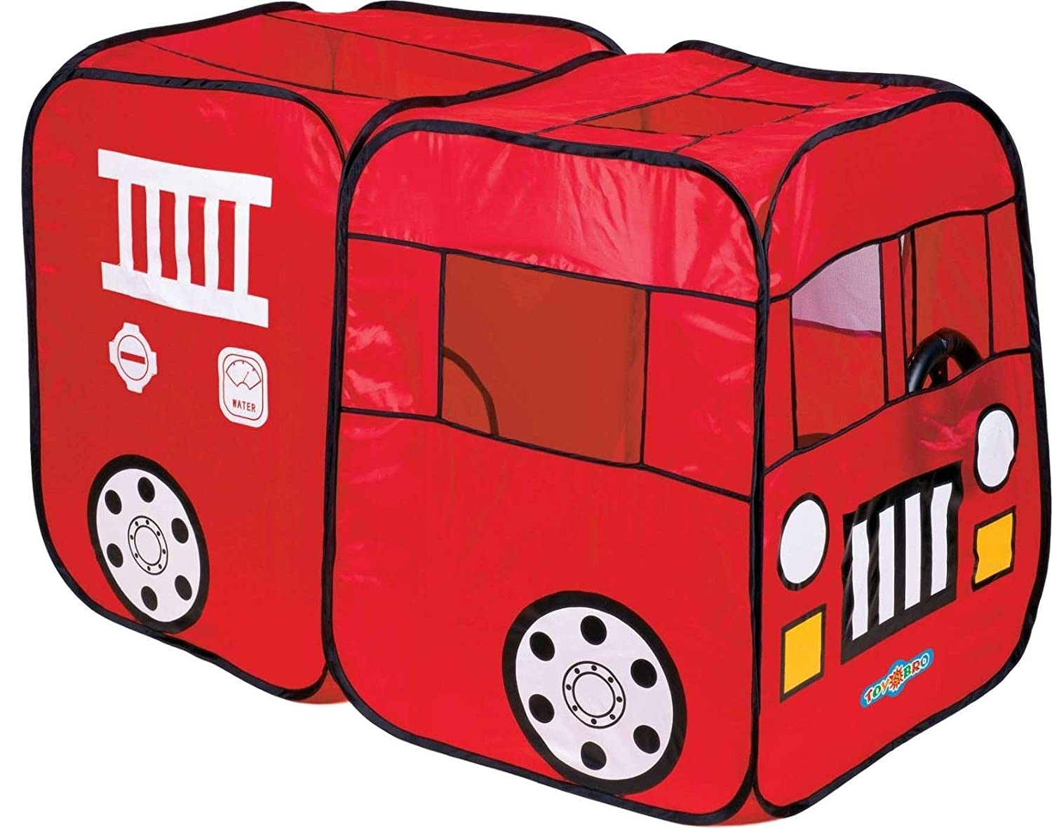 Amazon.com: Fire Truck Engine Play Tent Red Playtent House Indoor ...