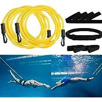 UCMDA Cinturón de Natación y Nadar Correa del Tobillo - Cinturón de natación Ajustable para Piscinas de natación