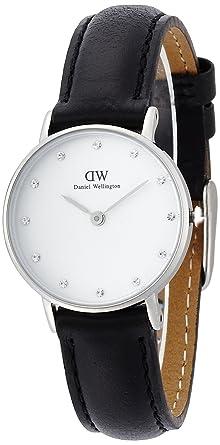 Sheffield Bracelet Analogique Cadran Montre Quartz Blanc Wellington Femme Cuir Classy 0921dw Daniel Noir Pk8Onw0X