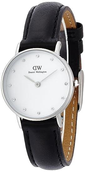 fa43b17a4 Daniel Wellington Reloj con Correa de Cuero para Mujer 0921DW: Amazon.es:  Relojes