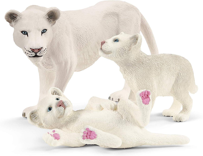 Schleich Leona Madre con Cachorros 42505