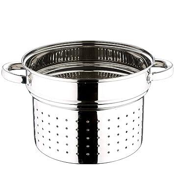 Chef Sauce CS-2560 24 cm Escurridor de Pasta de Acero ...