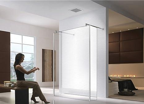130 x 200 cm jade walk in trasparente doccia da parete ibath