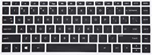 "Leze - Ultra Thin Keyboard Skin Cover for 15.6"" HP Spectre x360 15t [Released 2017], 15-BL012dx 15-BL112dx 15-BL075nr,15-AP011DX 15-AP011DX 15-AP012DX Series Touchscreen Laptop - Black"