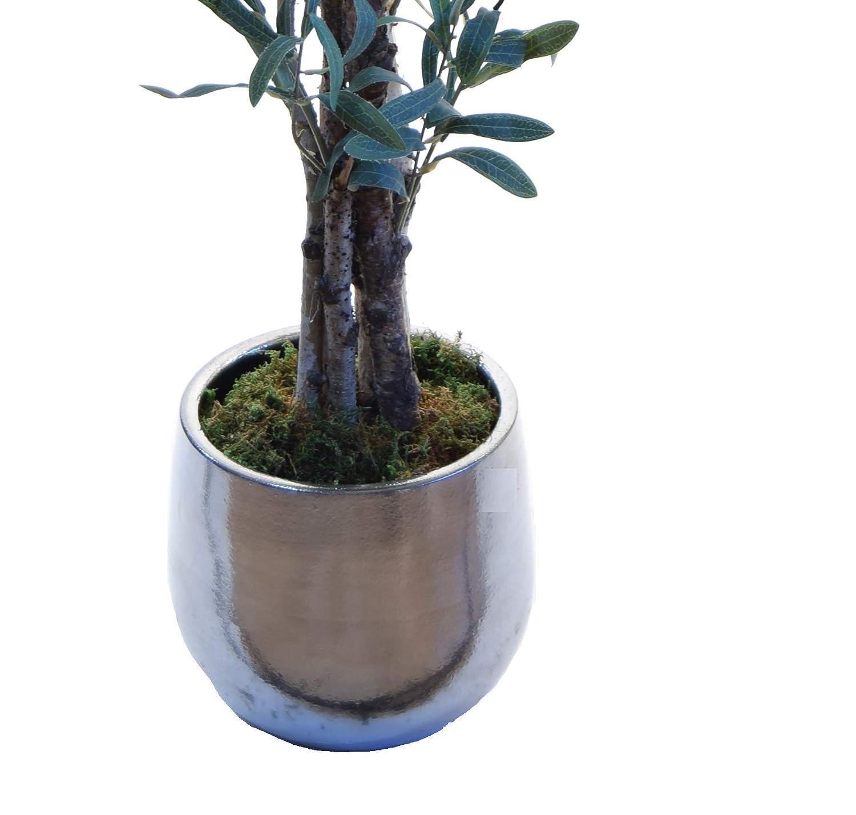 150 cm Ideal para Decoraci/ón de hogar Elaborados con los Mejores Materiales /Árbol Artificial Eucalyptus Artificial con Troncos Naturales