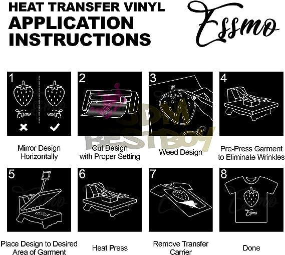 JD-ESSMO Green Apple Flock Heat Transfer Vinyl HTV Sheet T-Shirt 20 Wide Iron On Heat Press 20x12