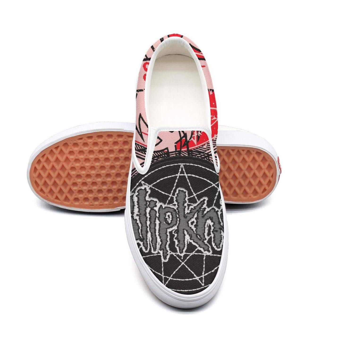 Funny Beautiful Design 8.5 B(M) US OUCUI Womens SlipknotAestheticLogo Loafer for Womens
