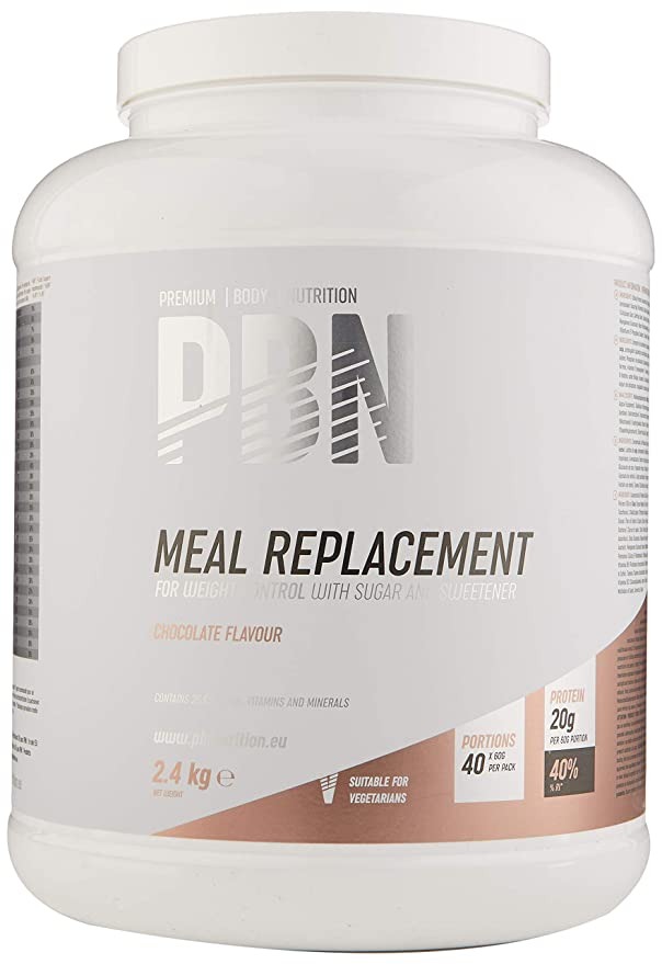 17 opinioni per PBN Meal Replacement Chocolate 2.4kg Jar