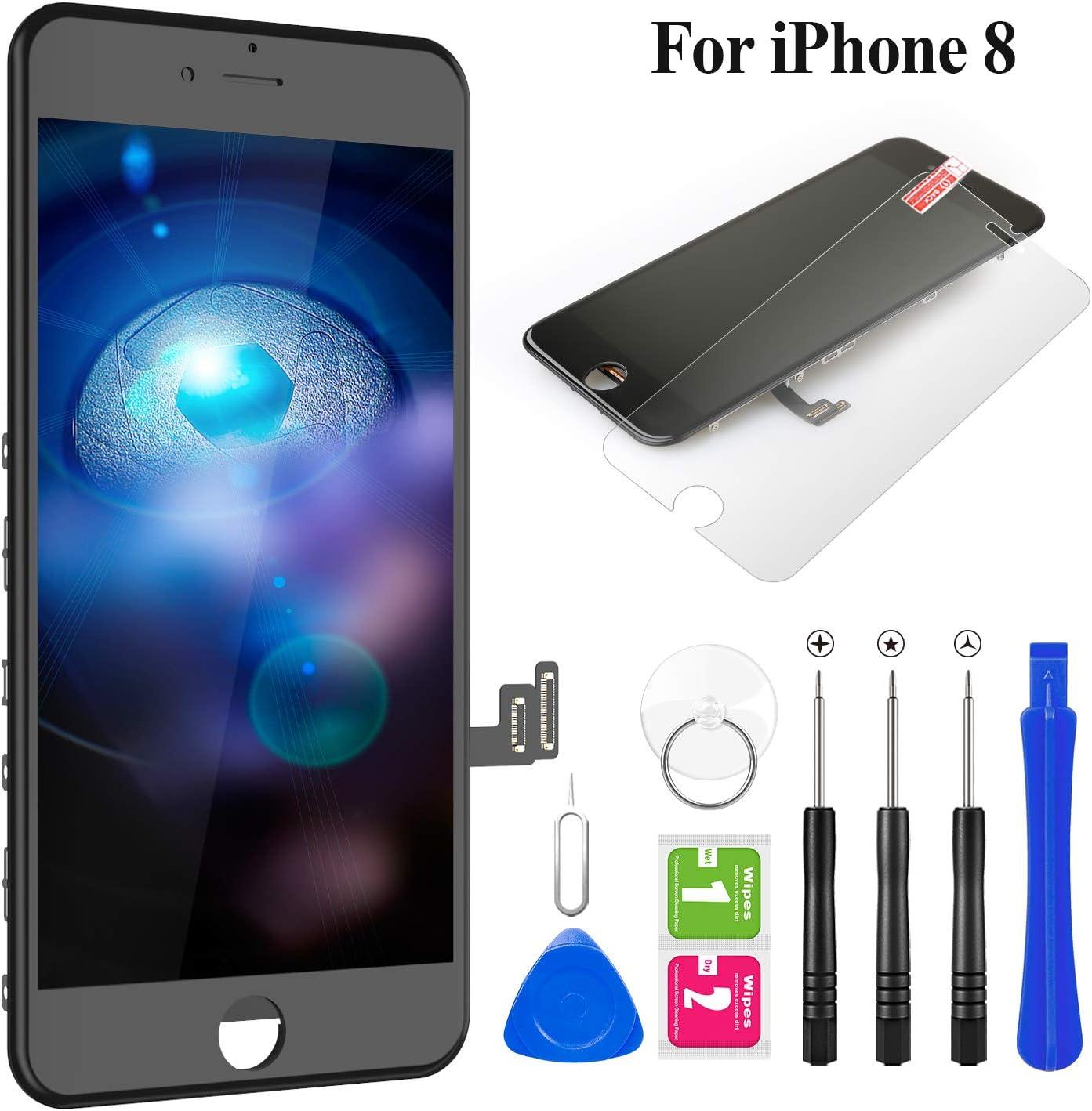 Pantalla LCD para iPhone 8  4.7  y protector de pantalla