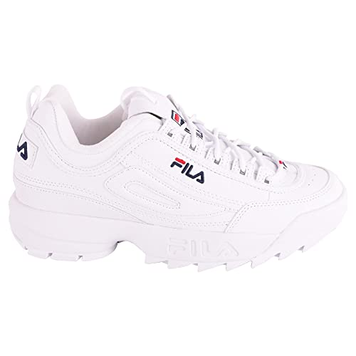 Fila Zapatillas Para Hombre Blanco Weiß It - Marke Größe, Color Blanco, Talla 43 IT - Marke Größe 10: Amazon.es: Zapatos y complementos