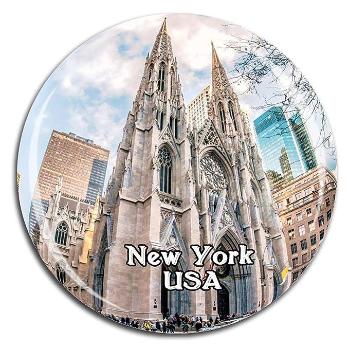 Weekino St. Patricks Cathedral Nueva York América EE. UU. Imán de ...