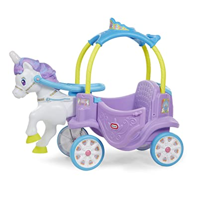 Little Tikes Magical Unicorn Carriage Ride On: Toys & Games