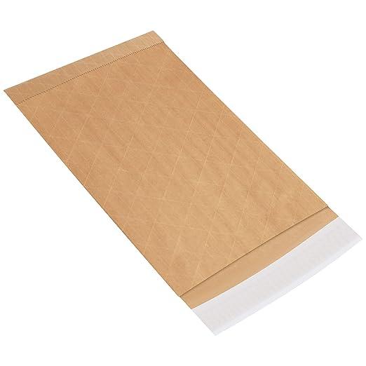 Aviditi Fiber #2 Self-Seal Padded Mailer 12 L x 8-1//2 W B805WSS25PK Case of 25 White