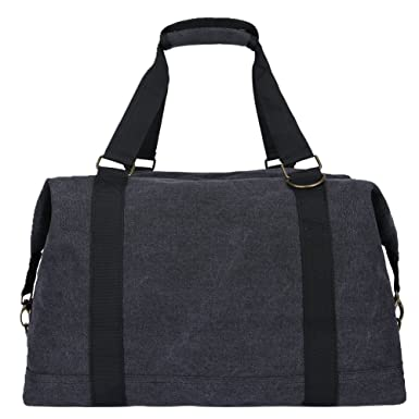 Amazon.com | Toupons Portable Men Women Casual Canvas Weekend ...