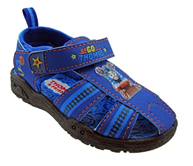 201af05925382 Thomas The Train Toddler Boy Fisherman Sandal - Blue
