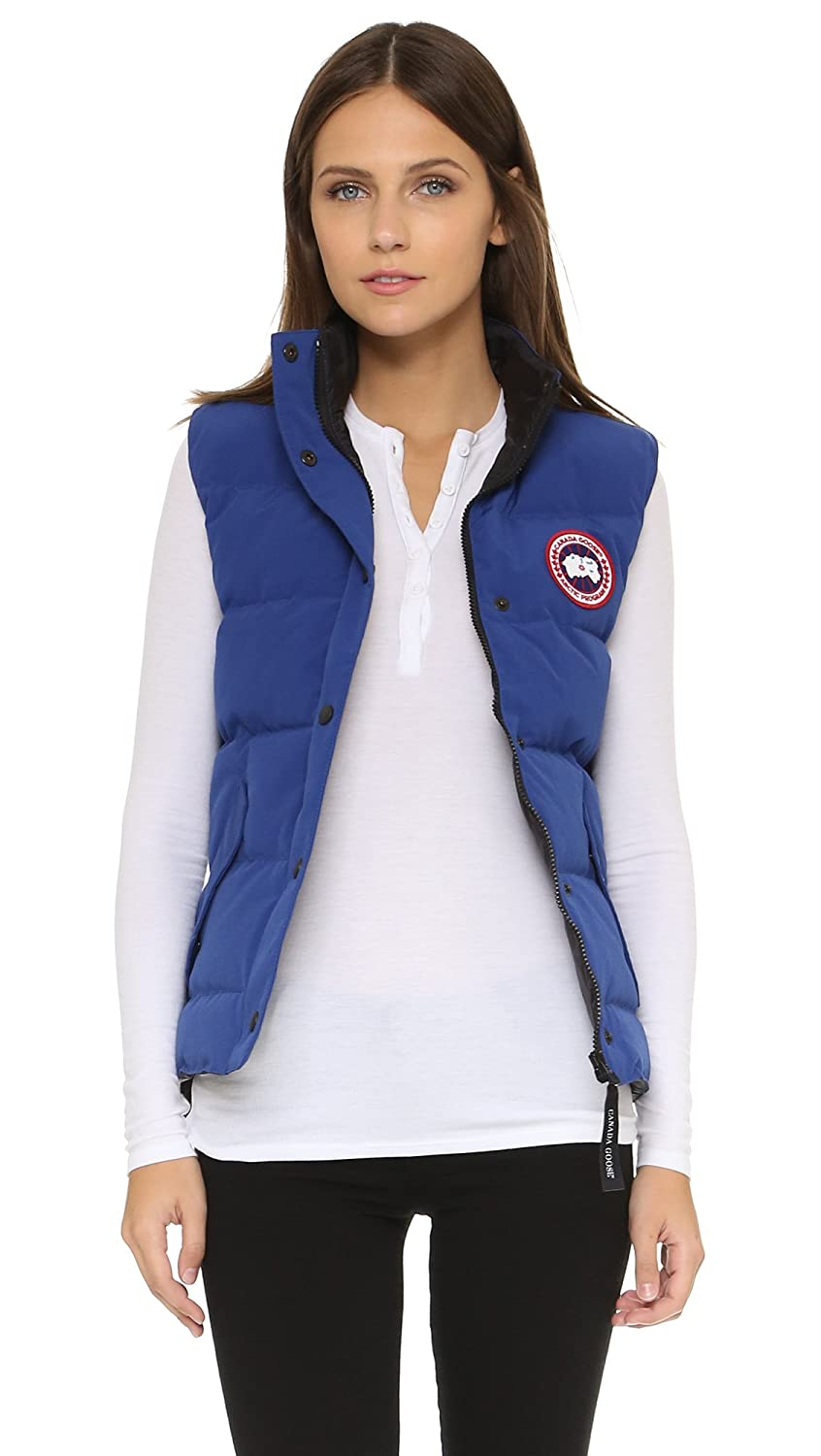 canada goose women s freestyle vest pacific blue xx small amazon rh amazon co uk