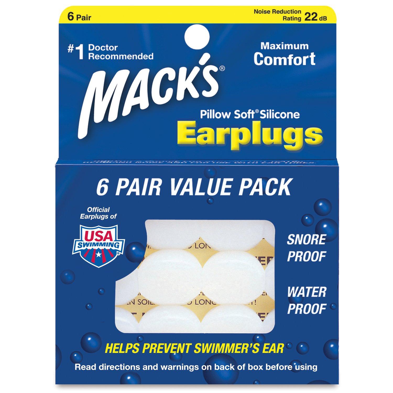 Macks Pillow Soft シリコン耳栓