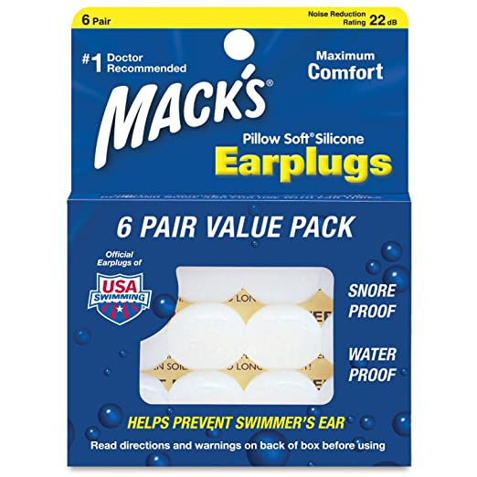 Mack's Pillow Soft Silicone Earplugs Review