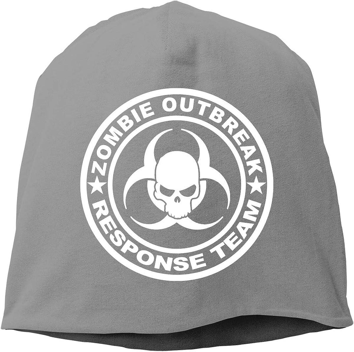 CRISCAP Zombie Outbreak Response Team Helmet Liner Thin Skull Cap Beanie Hip Hop Hat