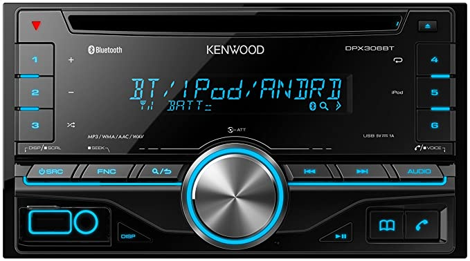 kenwood dpx 306bt double din car stereo with built in bluetooth rh amazon co uk kenwood car stereo user manual kenwood car audio instruction manual