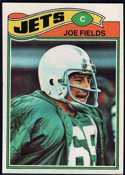 Amazon.com: Football NFL 1977 Topps #398 Joe Fields RC NY Jets:  Collectibles & Fine Art