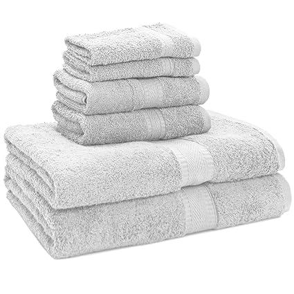 c7e2f25025b4 Image Unavailable. Image not available for. Color: Ivy Union 100% Egyptian  Cotton Premium Bath Towel Set ...
