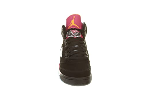 super popular 82104 71dbc AIR JORDAN Girls 5 Retro (GS)  Floridian  - 440892-067 - Size 4.5-US    4.5-UK  Amazon.co.uk  Shoes   Bags